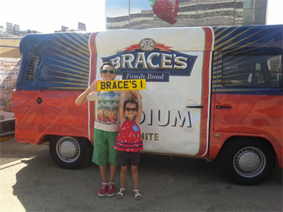 Promoting our Sponsors, Braces Bread - July 2014
