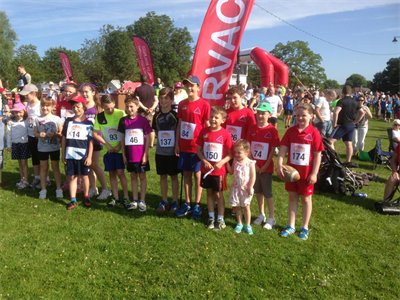 RVAC at the Caerphilly 10k - June 2014