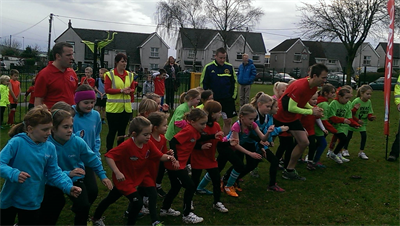 Starters Orders at RVAC Junior Cross Country - November 2014