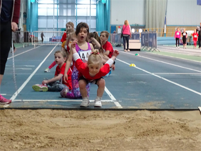 Text Book Standing Long Jump Technique at NIAC - March 2015