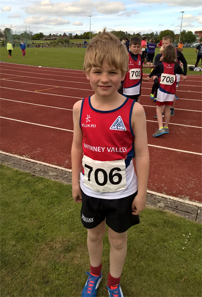 Evan in RVAC Vest at Hereford - May 2015